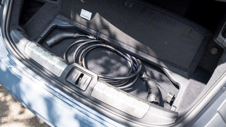 Audi e-tron GT cable storage