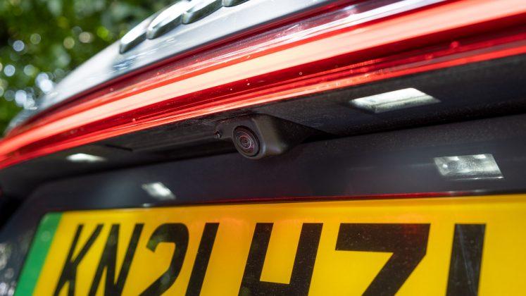 Audi e-tron GT camera