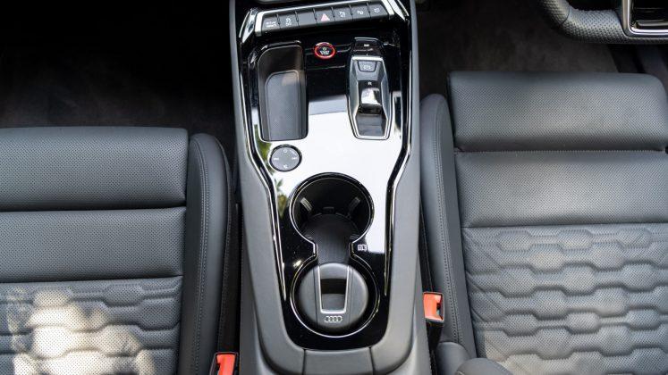 Audi e-tron GT centre console