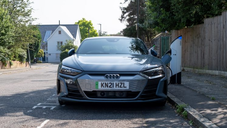 Audi e-tron GT charging speed