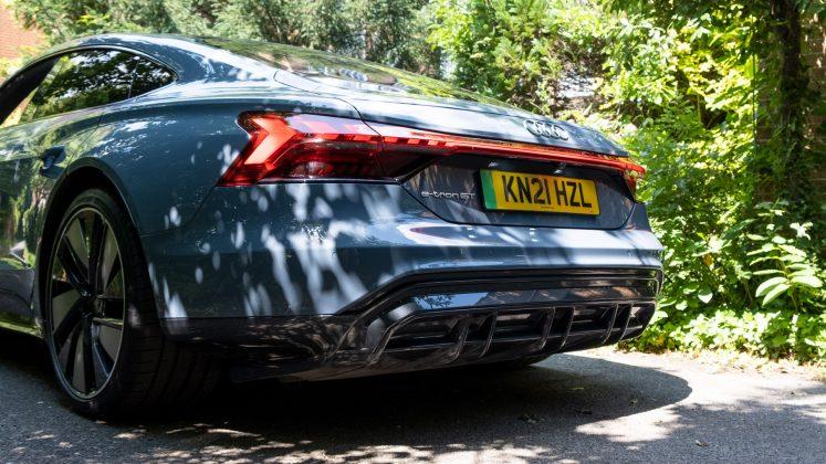 Audi e-tron GT diffuser