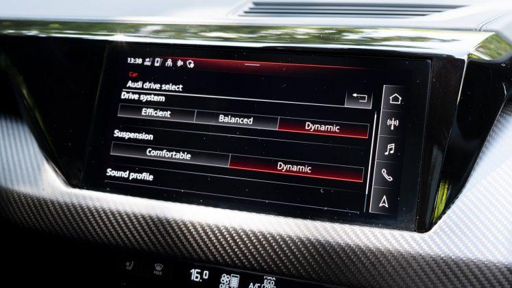 Audi e-tron GT drive profile