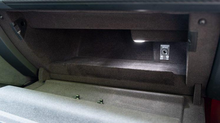 Audi e-tron GT glove compartment