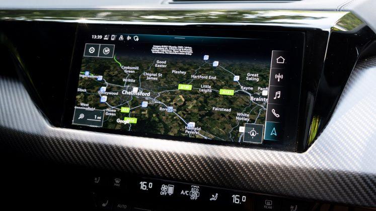 Audi e-tron GT maps