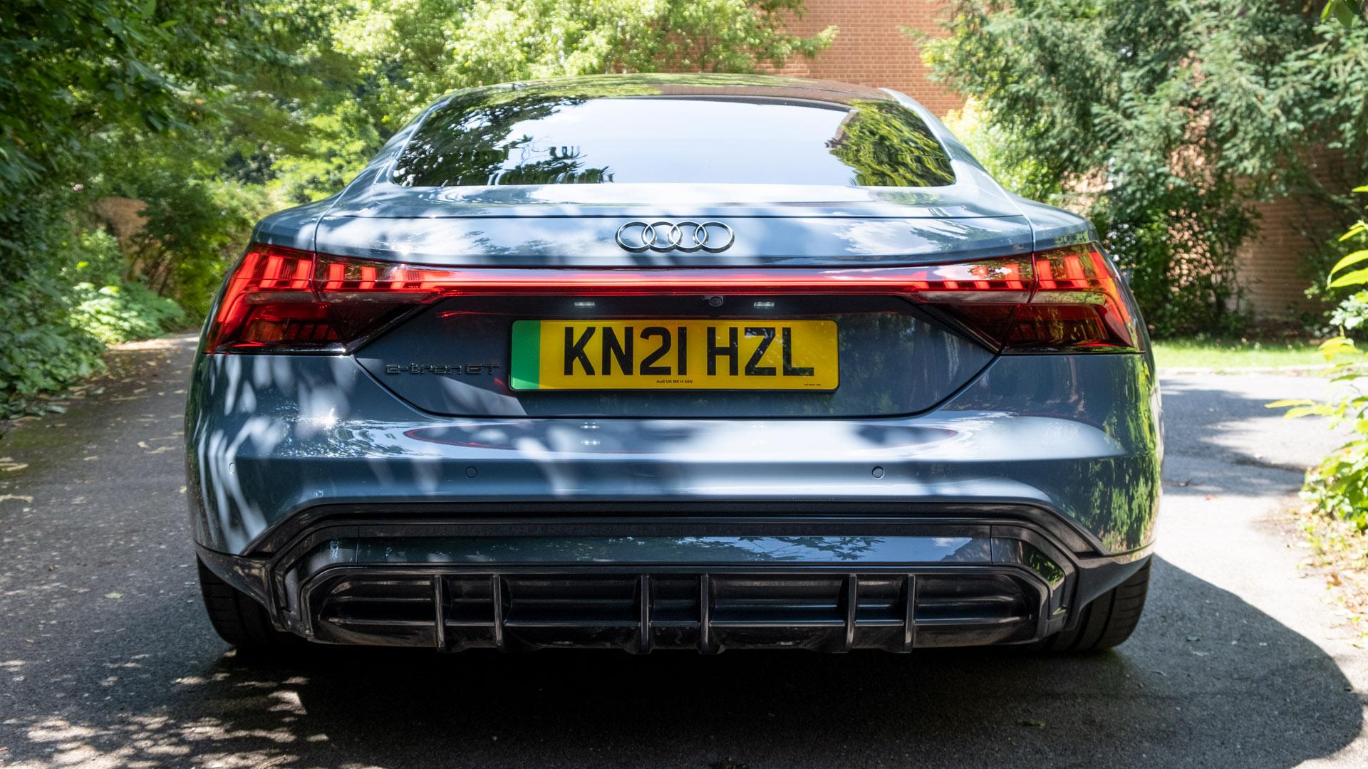 Audi e-tron GT rear lights