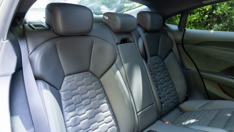 Audi e-tron GT rear seats