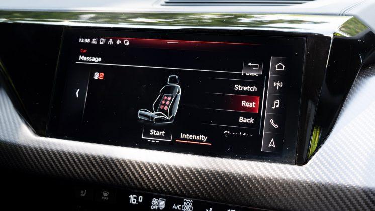 Audi e-tron GT seat function
