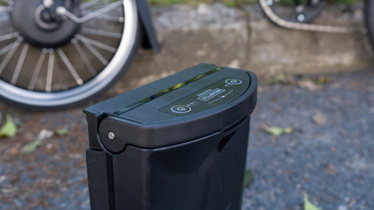 Brompton Electric battery function