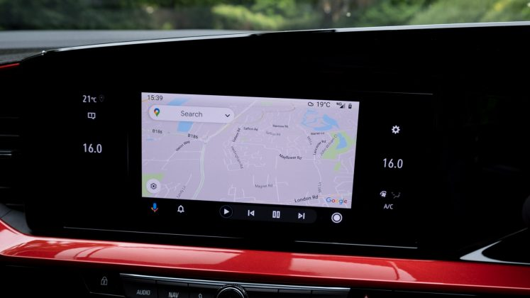 Vauxhall Mokka-e Google Maps