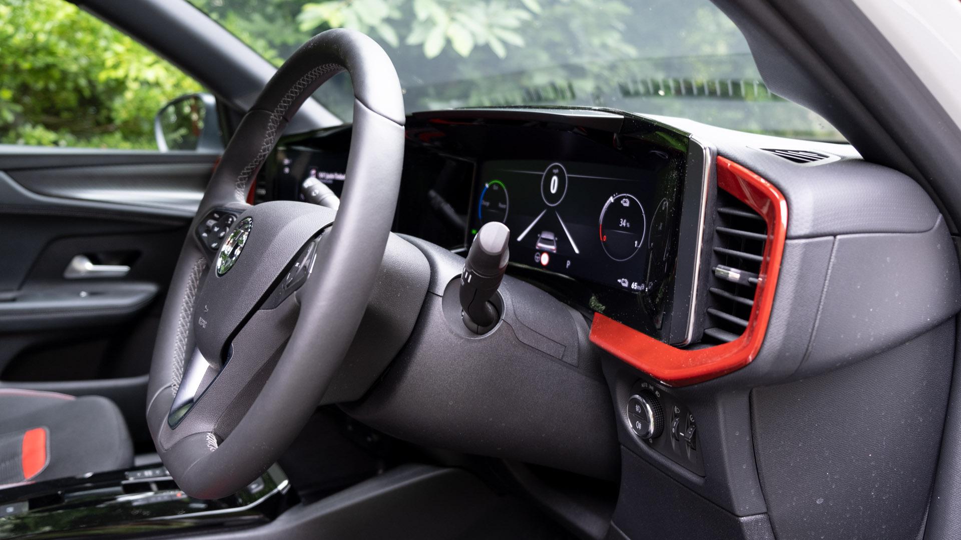 Vauxhall Mokka-e front cabin