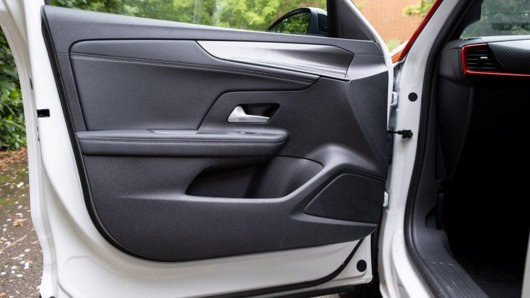 Vauxhall Mokka-e front door