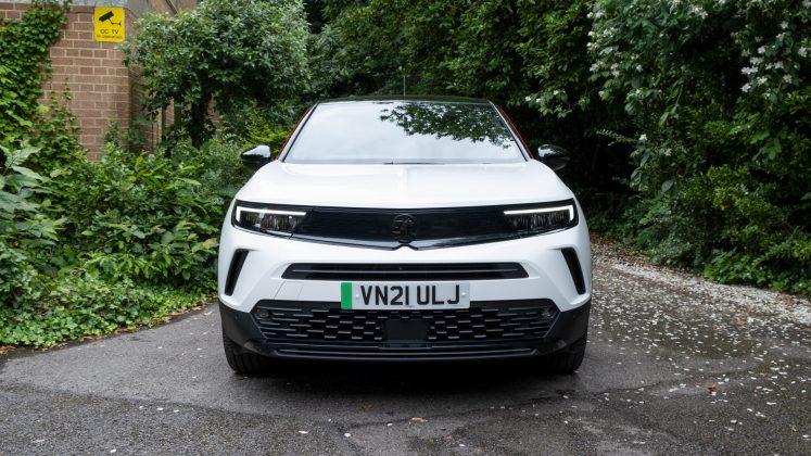 Vauxhall Mokka-e headlights