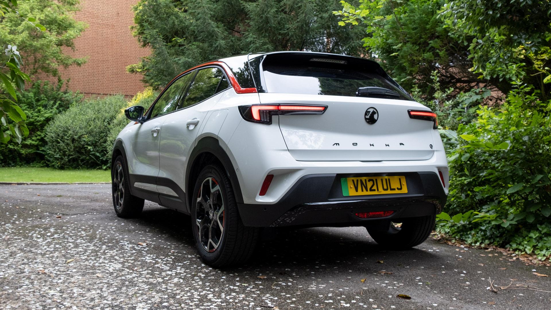Vauxhall Mokka-e rear design