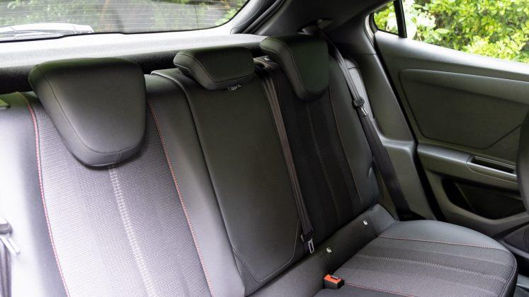 Vauxhall Mokka-e rear seats