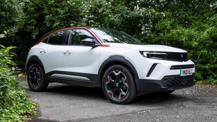 Vauxhall Mokka-e side