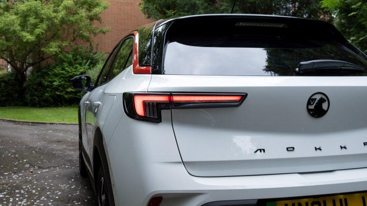 Vauxhall Mokka-e taillights