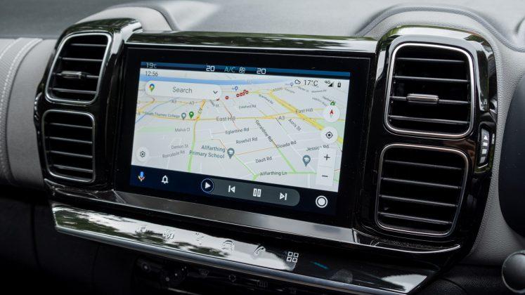 Citroen C5 Aircross Hybrid Android Auto