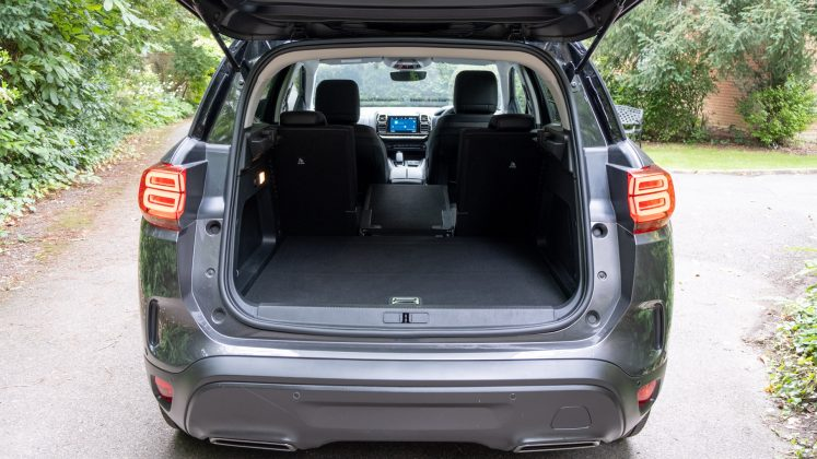 Citroen C5 Aircross Hybrid boot space