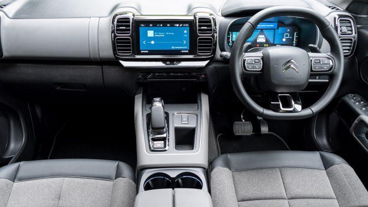 Citroen C5 Aircross Hybrid cabin noise