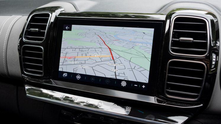 Citroen C5 Aircross Hybrid maps