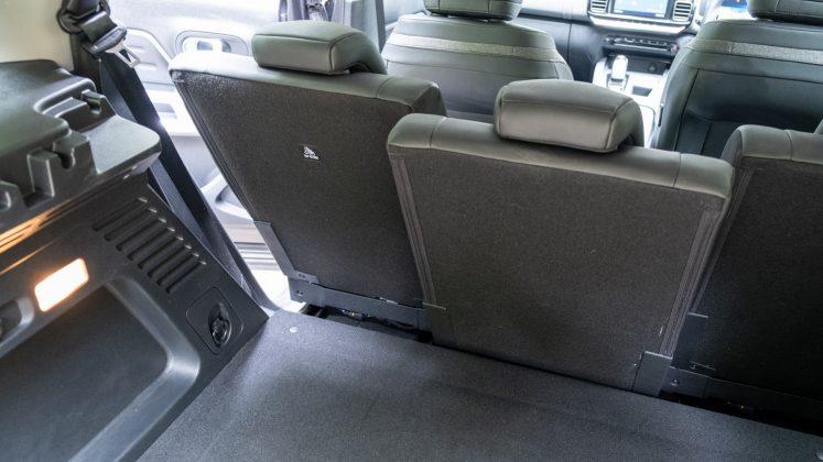 Citroen C5 Aircross Hybrid rear seat space
