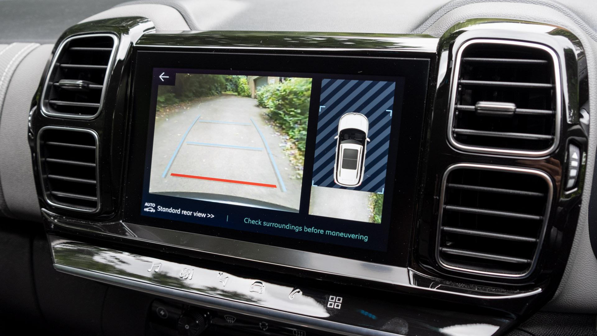 Citroen C5 Aircross Hybrid rearview camera