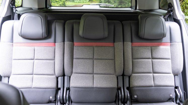 Citroen C5 Aircross Hybrid three rear seats