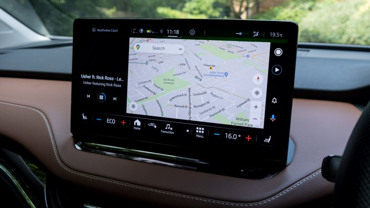 Skoda Enyaq iV Android Auto