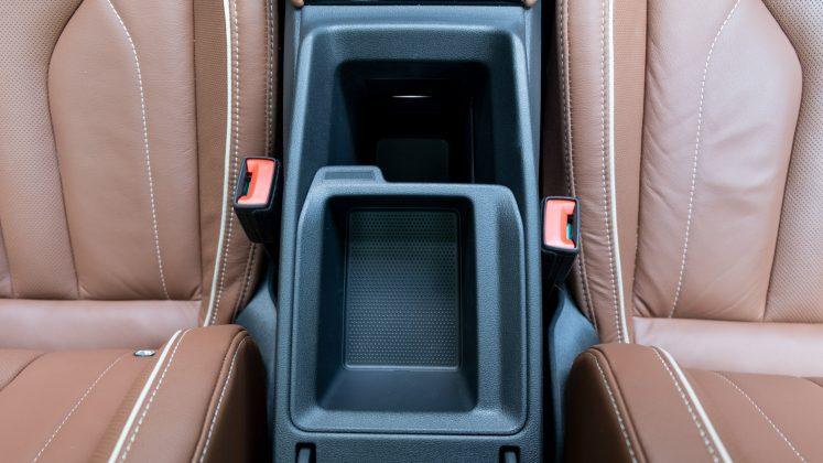 Skoda Enyaq iV armrest compartment