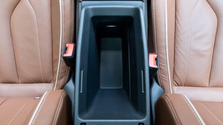 Skoda Enyaq iV armrest storage
