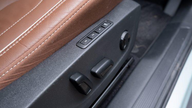 Skoda Enyaq iV electric seat
