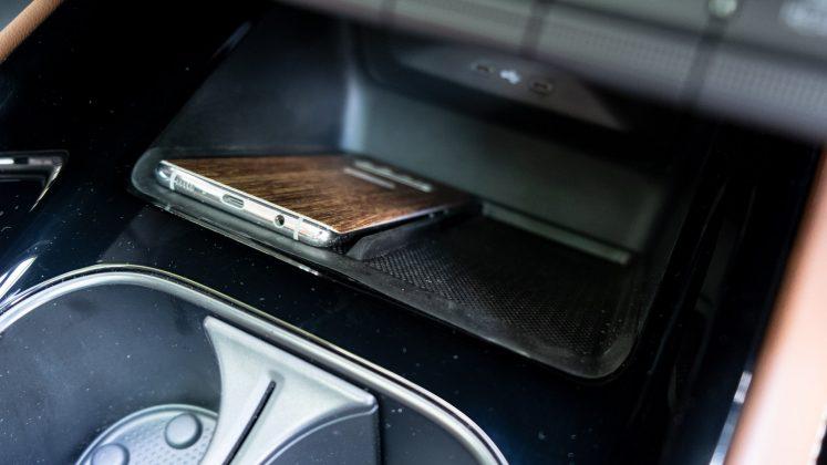 Skoda Enyaq iV phone storage