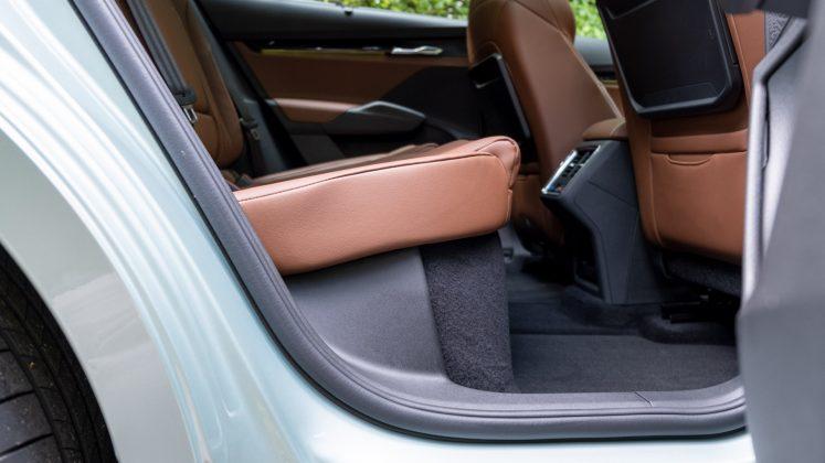 Skoda Enyaq iV rear seat comfort