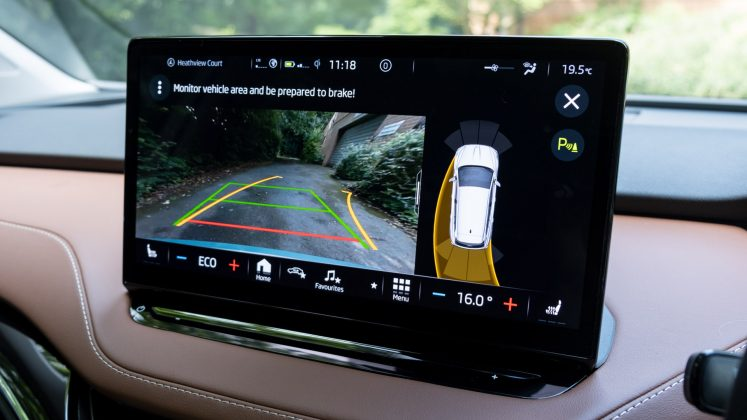 Skoda Enyaq iV rearview camera