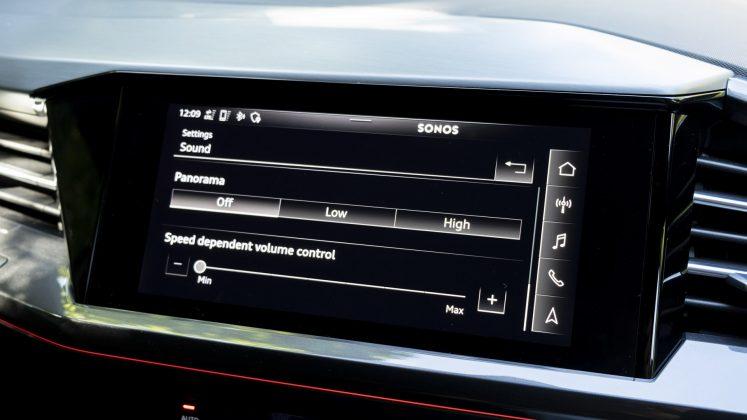 Audi Q4 e-tron Sonos EQ