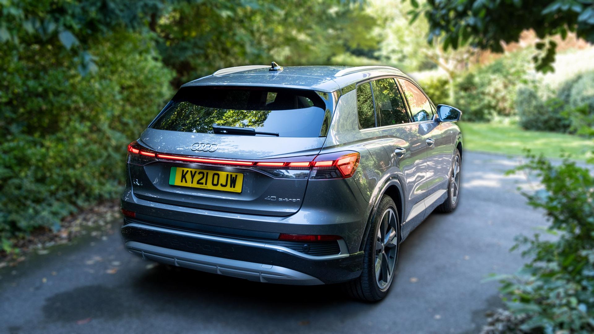 Audi Q4 e-tron audio review
