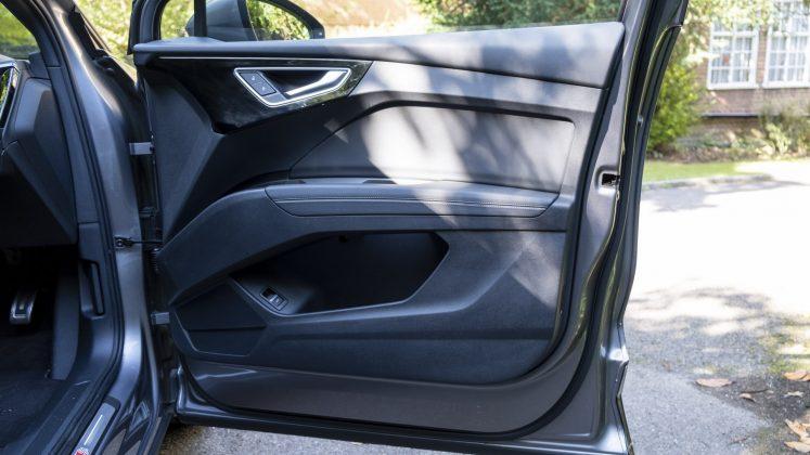Audi Q4 e-tron front door