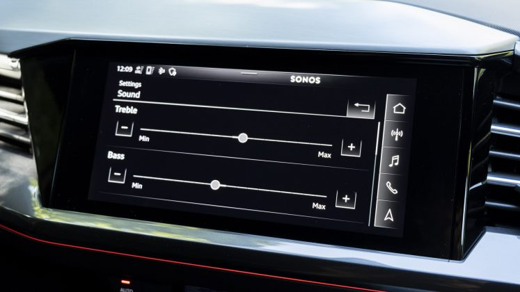 Audi Q4 e-tron sound system