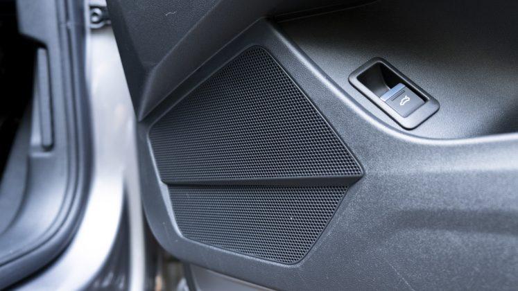 Audi Q4 e-tron speaker