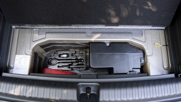 Audi Q4 e-tron underfloor compartment