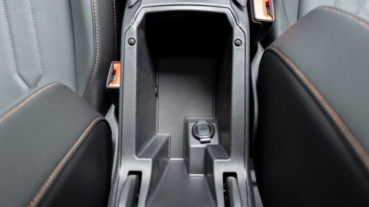 Cupra Formentor armrest storage