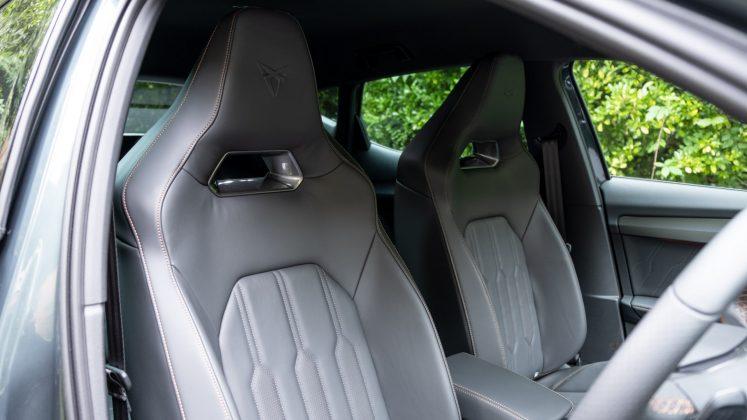 Cupra Formentor front seats