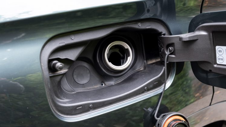 Cupra Formentor fuel inlet