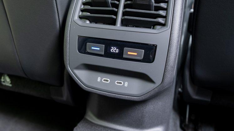 Cupra Formentor rear USB