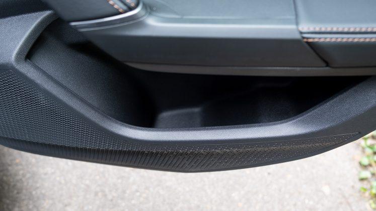 Cupra Formentor rear door compartment