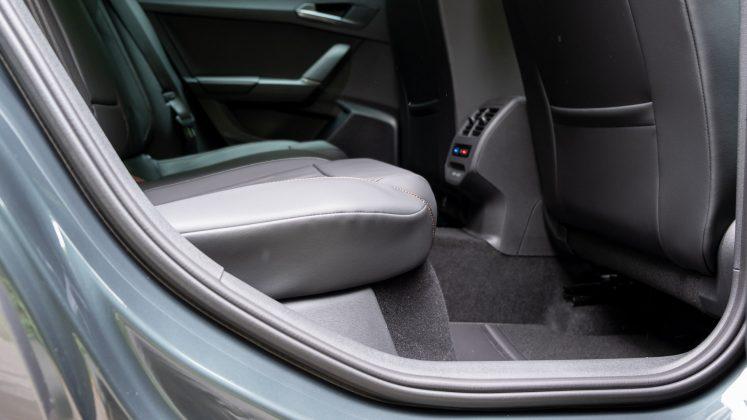 Cupra Formentor rear seat comfort