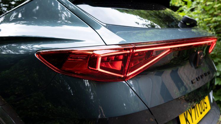 Cupra Formentor taillights