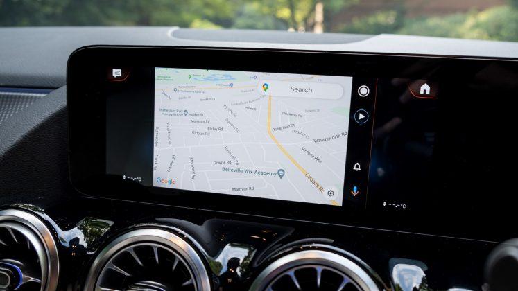 Mercedes EQA Android Auto