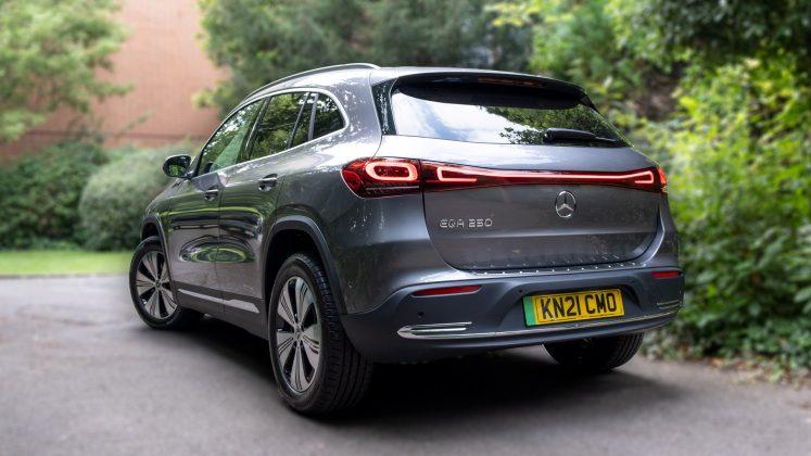 Mercedes EQA audio review