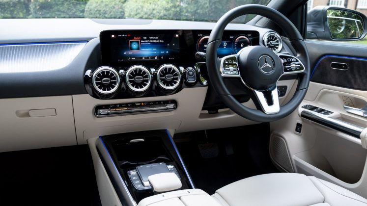 Mercedes EQA cabin design